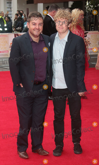 Alex Brooker Photo - August 20 2015 - Alex Brooker (L) and Josh Widdicombe attending the The Bad Education Movie World Premiere at Vue West End in London UK