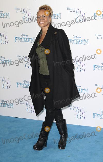 Angela Griffin Photo - Nov 17 2014 - London England UK - Frozen Celebrity Singalong - Red Carpet Arrivals Royal Albert Hall KensingtonPhoto Shows Angela Griffin