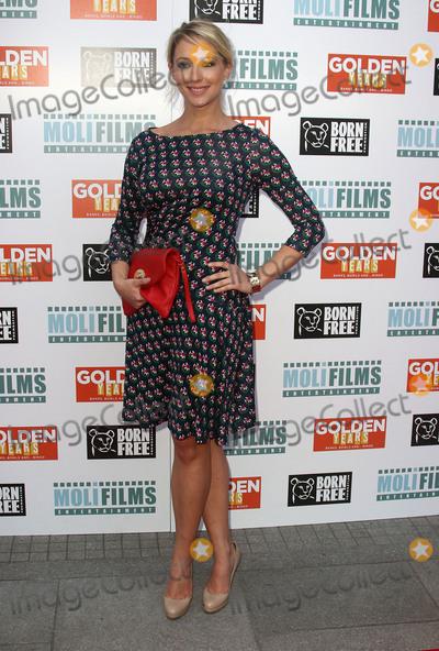 Ali Bastian Photo - April 14 2016 - Ali Bastian attending Golden Years UK Film Premiere at Odeon Tottenham Court Road in London UK