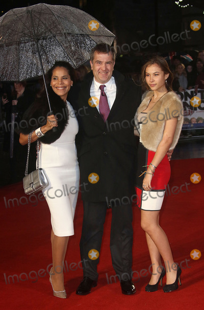 Damian Jones Photo - January 26 2016 - Producer Damian Jones and family attending Dads Army World Premiere Odeon Leicester Square in London UK