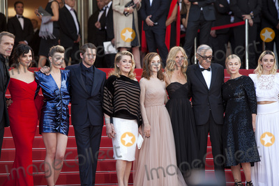 Catherine Deneuve Photo - CANNES FRANCE - MAY 22 Lambert Wilson Juliette Binoche Celine Sallette Gregoire Leprince-Ringuet Catherine Deneuve Isabelle Huppert Sandrine Kiberlain Andre Techine Emmanuelle Beart Elodie Bouchez attend the The Killing Of A Sacred Deer screening during the 70th annual Cannes Film Festival at Palais des Festivals on May 22 2017 in Cannes France(Photo by Laurent KoffelImageCollectcom)