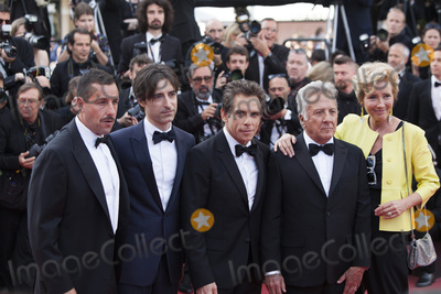 Adam Sandler Photo - CANNES FRANCE - MAY 21 (L-R) Actor Adam Sandler director Noah Baumbach actor Ben Stiller actor Dustin Hoffman and actress Emma Thompson of The Meyerowitz Stories attend the The Meyerowitz Stories screening during the 70th annual Cannes Film Festival at Palais des Festivals on May 21 2017 in Cannes France(Photo by Laurent KoffelImageCollectcom)