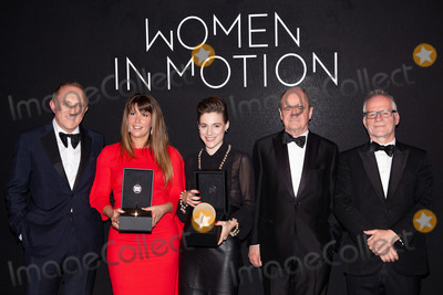 Thierry Fremaux Photo - CANNES FRANCE - MAY 13 Francois-Henry Pinault Patty Jenkins Carla Simon Thierry Fremaux and Pierre Lescure attend the Women in Motion Awards Dinner presented by Kering and the 71th Cannes Film Festival at Place de la Castre on May 13 2018 in Cannes France(Photo by Laurent KoffelImageCollectcom)