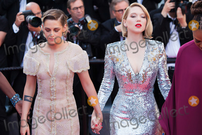 Lea Seydoux Photo - CANNES FRANCE - MAY 19  Kristen Stewart and Lea Seydoux attend the Closing Ceremony  screening of The Man Who Killed Don Quixote during the 71st annual Cannes Film Festival at Palais des Festivals on May 19 2018 in Cannes France  (Photo by Laurent KoffelImageCollectcom)