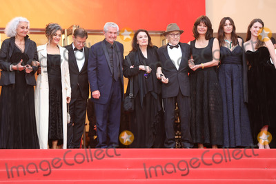 Monica Bellucci Photo - CANNES FRANCE - MAY 18 (2L-R) Souad Amidou Antoine Sire Claude Lelouch Anouk Aimee Jean-Louis Trintignant Marianne Denicourt Monica Bellucci and Tess Lauvergne attend the screening of Les Plus Belles Annees DUne Vie during the 72nd annual Cannes Film Festival on May 18 2019 in Cannes France(Photo by Laurent KoffelImageCollectcom)