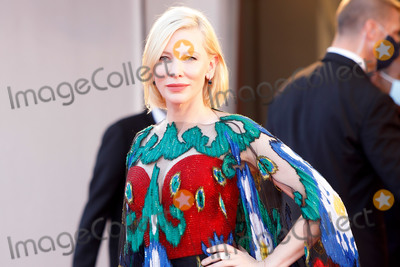 Cate Blanchett Photo - VENICE ITALY - SEPTEMBER 12 Cate Blanchett walks the red carpet ahead of closing ceremony at the 77th Venice Film Festival on September 12 2020 in Venice Italy(Photo by Laurent KoffelImageCollectcom)