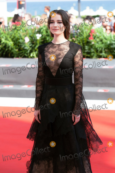 Aisling Franciosi Photo - VENICE ITALY - SEPTEMBER 06 Aisling Franciosi walks the red carpet ahead of the The Nightingale screening during the 75th Venice Film Festival at Sala Grande on September 6 2018 in Venice Italy(Photo by Laurent KoffelImageCollectcom)