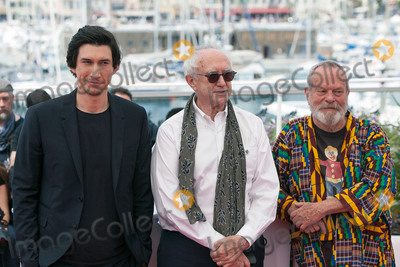 Adam Driver Photo - CANNES FRANCE - MAY 19 Adam Driver Jonathan Pryce and Terry Gilliam attend The Man Who Killed Don Quixote Photocall during the 71st annual Cannes Film Festival at Palais des Festivals on May 19 2018 in Cannes France(Photo by Laurent KoffelImageCollectcom)