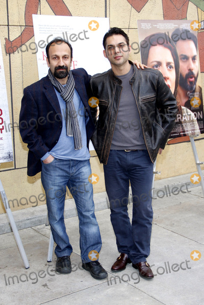 Asghar Farhadi Photo - Asghar Farhadi and Peyman Moaadi at the American Cinematheques 69th Annual Golden Globe Awards Foreign-Language Nominee Event held at the Egyptian Theater on January 15 2012