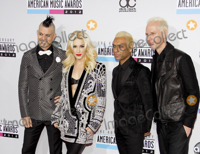 No Doubt Photo - No Doubt at the 40th Anniversary American Music Awards held at the Nokia Theatre LA Live in Los Angeles United States 181112