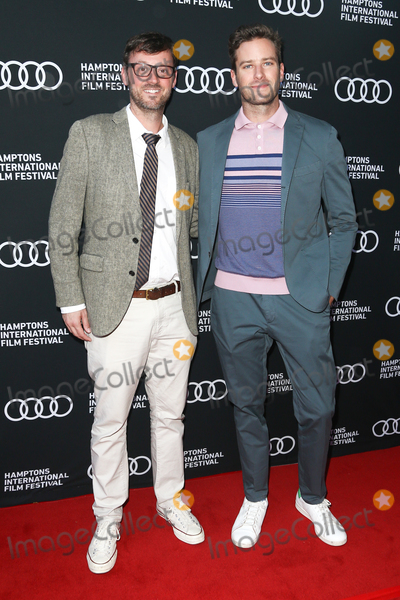 Armie Hammer Photo - EAST HAMPTON NY - OCTOBER 06  Actor Armie Hammer (R) and Artistic Director David Nugent attend the Call Me By Your Name screening during the 2017 Hamptons International Film Festival at Guild Hall on October 6 2017 in East Hampton York New York  (Photo by AKPhotoImageCollectcom)