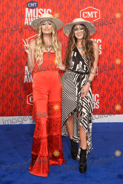 Alyssa Bonagura Photo - NASHVILLE - JUNE 5 Ruby Stewart (L) and Alyssa Bonagura of the Sisterhood Band attend the 2019 CMT Music Awards at Bridgestone Arena on June 5 2019 in Nashville Tennessee