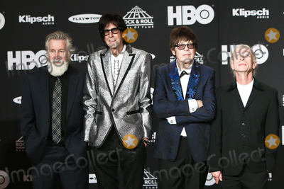 THE ROCK Photo - CLEVELAND OH - APR 14 Singer Ric Ocasek of The Cars is inducted into the Rock and Roll Hall of Fame on April 14 2018 at the Public Auditorium in Cleveland Ohio