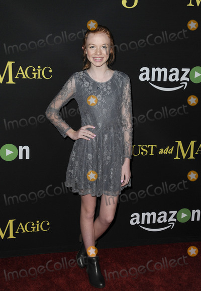 Abby Donnelly Photo - January 14 2016 LAAbby Donnelly arriving at the premiere of Amazons Just Add Magic at the ArcLight Hollywood on January 14 2016 in Hollywood California By Line Peter WestACE PicturesACE Pictures Inctel 646 769 0430