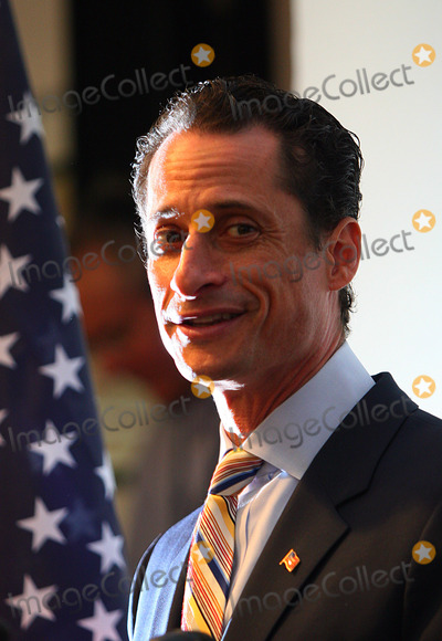 Anthony Weiner Photo - Representative Anthony D Weiner a New York Democratic Congressman from Brooklyn and Queens has resigned from Congress following a sexting  scandal in which he sent lewd pictures of himself to several young women on line on June 16 2011 in New York City