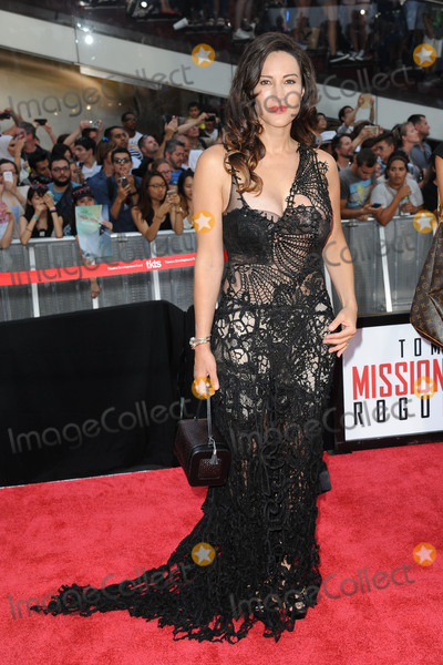 America Olivo Photo - July 27 2015 New York CityAmerica Olivo attending the Paramount Pictures and Skydance Productions presentation of the US premiere of Mission Impossible-Rogue Nation at Duffy Square in Times Square  on July 27 2015 in New York CityPlease byline Kristin CallahanACE Tel (646) 769 0430