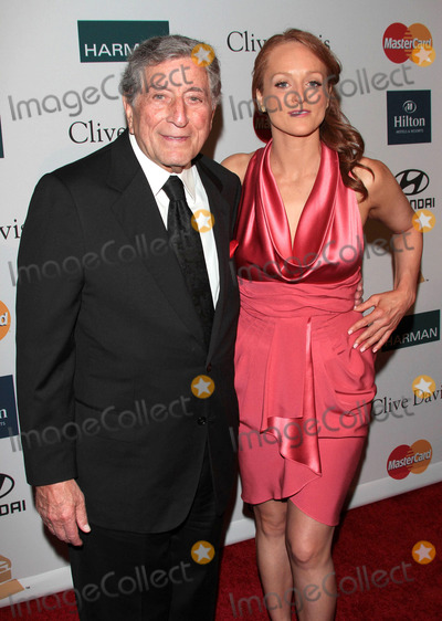 Antonia Bennett Photo - Tony Bennett and Antonia Bennett at the Clive Davis Pre-Grammy Party at the Beverly Hilton Hotel in on February 11 2012 in Los Angeles