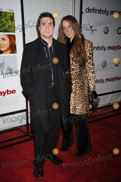 Alex Tyler Photo - Actor Adam Ferrara and Alex Tyler arriving at the premiere of Definitely Maybe at the Ziegfeld Theater in midtown Manhattan