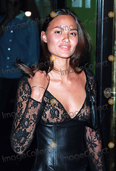 Anne Marie Photo - Anne Marie Cortight arriving at the party celebration of the first anniversary of his club Man Ray New York July 10 2002