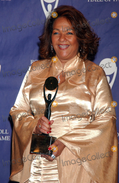The Ronettes Photo - Honoree Nedra Talley of The Ronettes in the press room at the 22nd annual Rock And Roll Hall Of Fame Induction Ceremony at the Waldorf Astoria Hotel