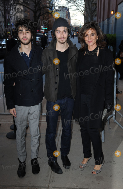 Alex Wolff Photo - March 21 2016 New York CityAlex Wolff Nat Wolff and Polly Draper seen arriving to attend a screening of the movie  Demolition at SVA Theater on March 21 2016 in New York CityCredit Kristin CallahanACE PicturesTel (646) 769 0430