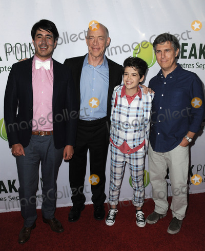 JK Simmons Photo - August 27 2015 LADaniel Hammond JK Simmons Joshua Rush Chris Parnell arriving at the special screening of Break Point at the TCL Chinese 6 Theatre on August 27 2015 in Hollywood CaliforniaBy Line Peter WestACE PicturesACE Pictures Inctel 646 769 0430