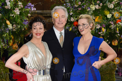 Alan Rickman Photo - April 13 2015 LondonHelen McCrory Alan Rickman and Kate Winslet arriving at the UK premiere of A Little Chaos at the Odeon Kensington on April 13 2015 in London By Line FamousACE PicturesACE Pictures Inctel 646 769 0430