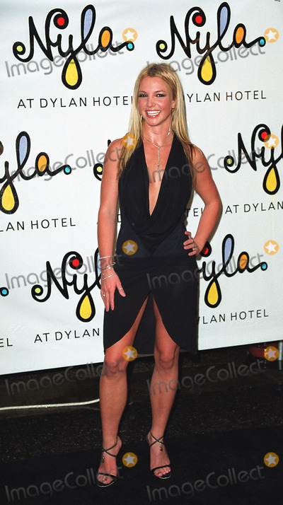Photos and Pictures - Britney Spears at the opening of her new restaurant  called Nyla at Dylan Hotel in New York. June 27, 2002.