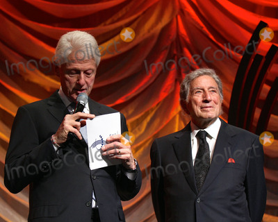 THE CLINTONS Photo - September 27 2015 New York CityBill Clinton and Tony Bennett attending the Clinton Global Citizen Awards during the second day of the 2015 Clinton Global Initiatives Annual Meeting at the Sheraton New York Hotel on September 27 2015 in New York CityBy Line Nancy RiveraACE PicturesACE Pictures Inctel 646 769 0430