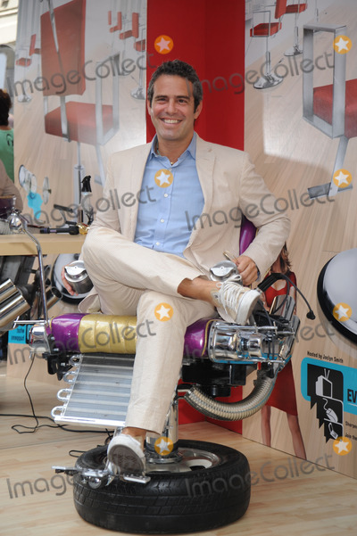 Andy Cohen Photo - Andy Cohen Senior VP of Production Shear Genius poses at the launch of Shear Genius Season 2 at Military Island in Times Square on June 24 2008 in New York City
