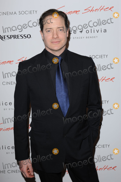 Brendan Fraser Photo - January 22 2014 New York CityBrendan Fraser attending a Roadside Attractions  Day 28 Films with The Cinema Society screening of Gimme Shelter at Museum of Modern Art on January 22 2014 in New York City
