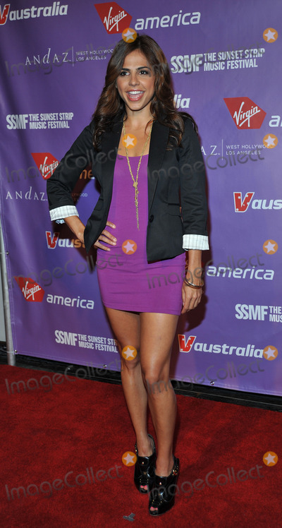 AZITA GHANAIZADA Photo - Actress Azita Ghanaizada at the 2nd Annual Virgin America Sunset Strip Music Festival Party at the Andaz West on September 11 2009 in Los Angeles California