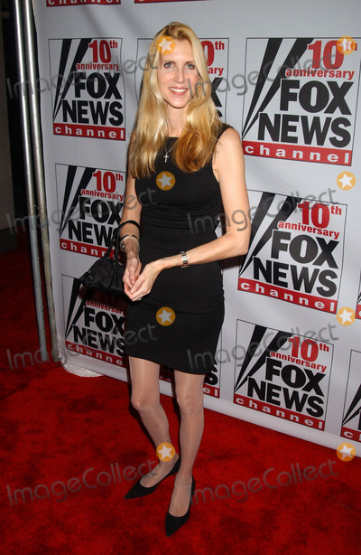 ANNE COULTER Photo - Anne Coulter attends the Fox News Channels 10th Anniversary VIP Party hosted by Rupert Murdoch and Roger Ailes