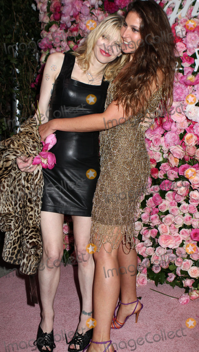 Stella Schnabel Photo - March 20 2012 New York CityCourtney Love (L) and Stella Schnabel at the launch of Salvatore Ferragamos Signorina fragrance at Palazzo Chupi on March 20 2012 in New York City