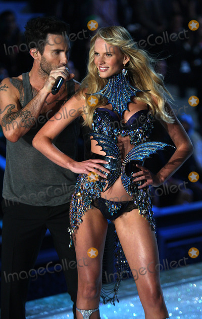 Anne Vyalitsina Photo - Anne Vyalitsina and Adam Levine on the runway at the 2011 Victorias Secret Fashion Show at the Lexington Avenue Armory on November 9 2011 in New York City