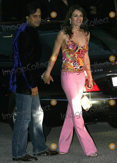 Arun Nayer Photo - MADRID MAY 9 2005    Arun Nayer and Liz Hurley at David Beckhams birthday party at Buddah Del Mar