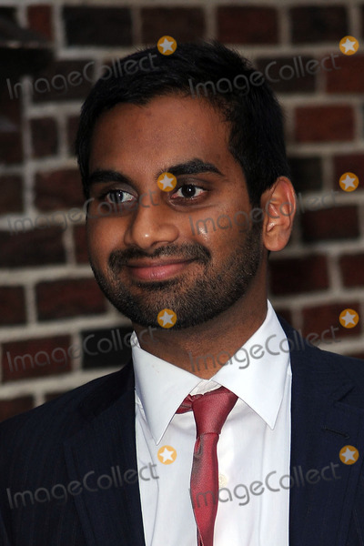 Aziz Ansari Photo - Actor Aziz Ansari made an appearance at the Late Show with David Letterman on October 13 2009 in New York City