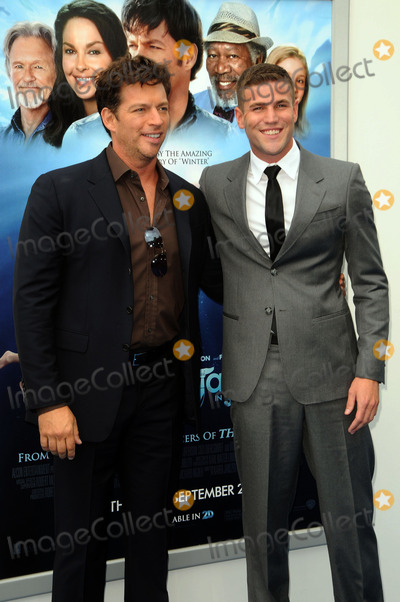 Austin Stowell Photo - Actors Harry Connick Jr and Austin Stowell arriving at the Premiere of Dolphin Tale at The Village Theatre on September 17 2011 in Westwood California