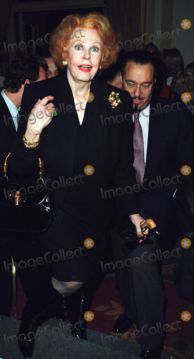 Liza Minnelli Photo - Dennis Basso fashion designer to the stars held his annual Fur Fashion Show at the Pierre Hotel in New York where Liza Minnelli was the grand finale of his show PICTURED IS ARLENE DAHL May 20 2002
