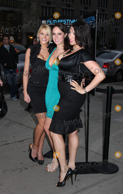 Lindsey Vuolo Photo - (left to right) Models Shannon James Lindsey Vuolo and Crystal Pierce at the premiere of Finding Bliss at the 14th Annual Gen Art Film Festival Presented by Acura at the Visual Arts Theater on April 7 2009 in New York City