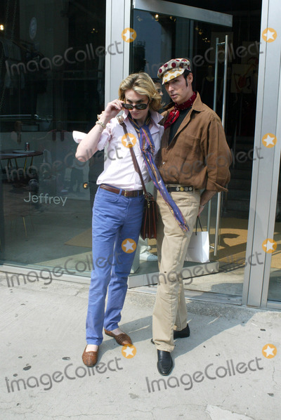 Austin Scarlett Photo - NEW YORK AUGUST 12 2005    Patrick McDonald and Austin Scarlett exiting Jeffrey after shopping