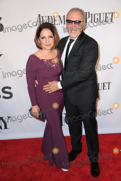 Emilio Estefan Photo - June 8 2014 New York CityGloria Estefan and Emilio Estefan attending the 68th Annual Tony Awards at Radio City Music Hall on June 8 2014 in New York City