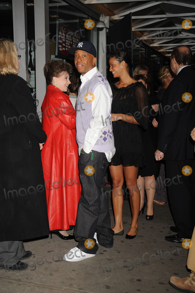 Cindy Adams Photo - Cindy Adams Russell Simmons and Porchla Coleman attend the The Life Before Her Eyes screening hosted by Cinema Society and Nicole Miller at the IFC Center