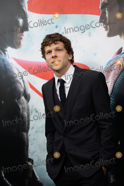 Jesse Eisenberg Photo - March 20 2016 New York CityJesse Eisenberg attending the Batman v Superman Dawn Of Justice New York premiere at Radio City Music Hall on March 20 2016 in New York CityCredit Kristin CallahanACE PicturesTel (646) 769 0430
