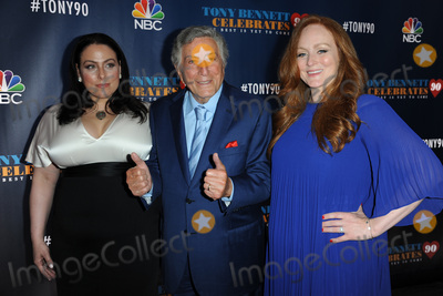 Antonia Bennett Photo - September 15 2016 New York CityTony Bennett and his daughters attending Tony Bennett Celebrates 90 The Best Is Yet To Come at Radio City Music Hall on September 15 2016 in New York CityCredit Kristin CallahanACE PicturesTel 646 769 0430