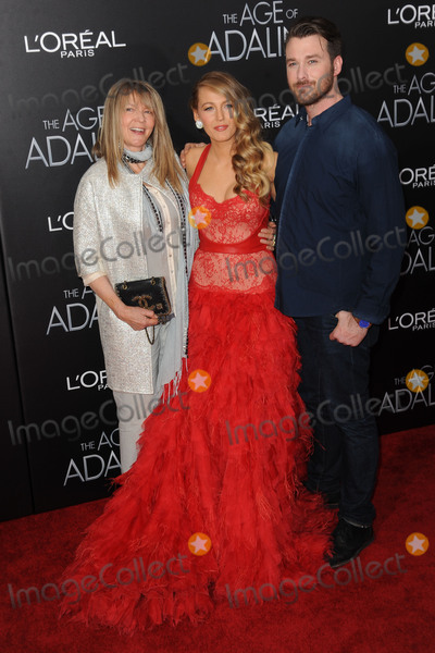 Eric Lively Photo - April 19 2015 New York CityElaine Lively Blake Lively and Eric Lively attending The Age of Adaline premiere at AMC Loews Lincoln Square 13 theater on April 19 2015 in New York CityPlease byline Kristin CallahanAcePicturesTel (646) 769 0430
