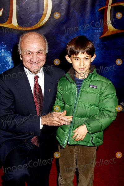 Nicholas Scoppetta Photo - New York City Fire Commissioner Nicholas Scoppetta and grandson attend the Enchanted Premiere at the Ziegfeld Theatre in New York City