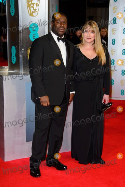 Steve Mc Queen Photo - February 16 2014 LondonSteve McQueen and Bianca Stigter arriving at the 66th EE British Academy Film Awards on February 16 2014  in London