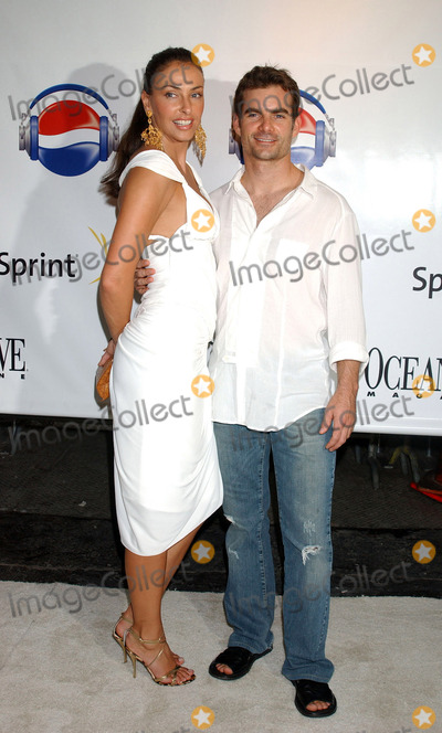 Amanda Church Photo - MIAMI  AUGUST 28 2005    Amanda Church and Jeff Gordon at Diddys Official VMA after party at Space