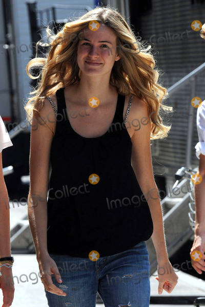 Alice Callahan Photo - Alice Callahan on the Meatpacking District set of the TV show Gossip Girl on July 15 2010 in New York City